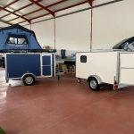 Jovive tiendas de techo para coche Remolque